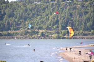 Windsurfing, Hood River OR, Columbia River Gorge