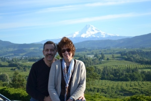 Mount Hood, Panoramic Point, Columbia River Gorge, Hood River OR