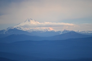 View from Rams Head Bar, Timberline Lodge, Mount Hood, OR