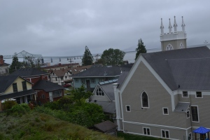 This was it - our one shot of Astoria.