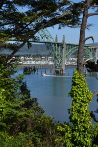 Yaquina Bay Bridge - the most photographed in the state