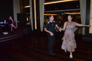 Dancing, Norwegian Epic