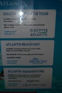Atlantis Paradise Island Resort, Nassau Bahamas