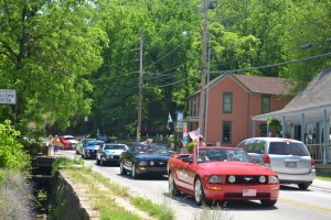 Parade of Mustangs, Eureka Springs AR