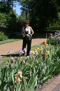 Iris Garden, Missouri Botanical Garden, St Louis MO