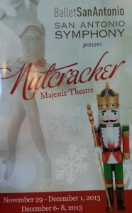 2013 Nutcracker Program, Majestic Theater, San Antonio TX