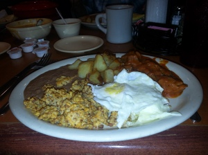 Ranchero Deluxe, Amaya's Taco Village, Austin TX