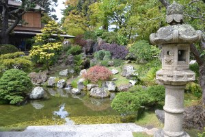 The Japanese Tea Garden at Golden Gate Park.