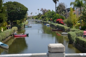 The Venice Canals, Venice Beach CA