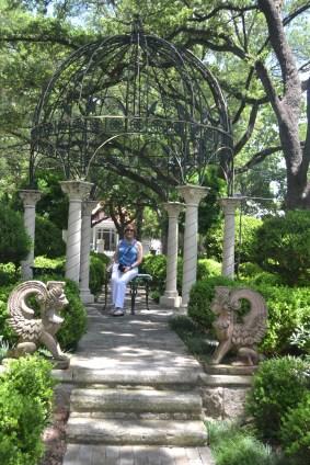 In the Villa Finale Garden
