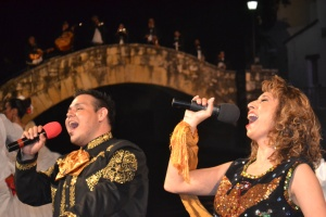 Fiesta Noche del Rio, Arnesdon River Theater Riverwalk, San Antonio TX