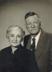 Tom and Lula Mae on their 20th wedding anniversary.