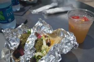 NAO tacos at The Pearl Farmer's Market