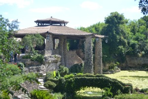Pavilion, Japanese Tea Garden, Brackenridge Park, San Antonio TX