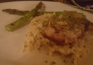 My half of the entree