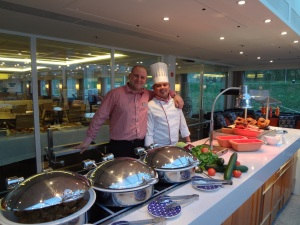 The Aquavita Terrace Buffet on the Regional Buffet night.