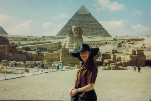 My first visit to the Pyramids