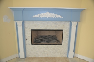 My Wedgewood-esque Fireplace