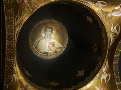 The interior dome