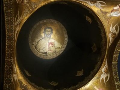 The interior dome