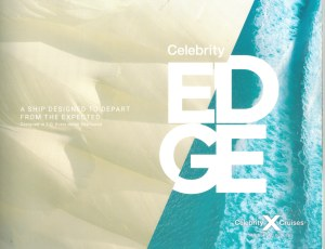 Celebrity Edge Brochure